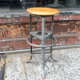Tripod Factory Stool