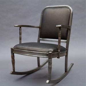Brushed Steel Armchair Rocker Sheraton Series By Simmons