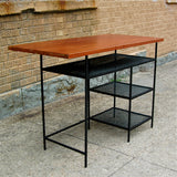 Floating Industrial Desk