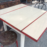 Milk Glass Kitchen Table
