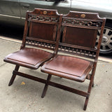 Antique Theater Bench