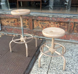 Painted Metal Stools
