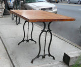 Reclaimed Industrial Table