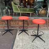 Retro Bar Stool Set