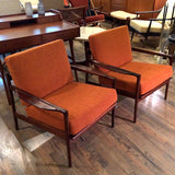 Rosewood Lounge Chairs