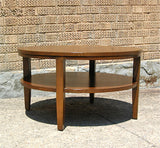 Tiered Oak Coffee Table