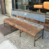Rustic Navy Ship Bench