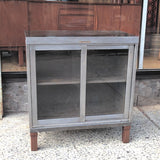 Brushed Steel Cabinet