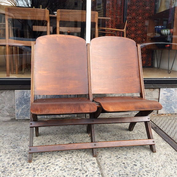 Wondrous Folding Theater Bench Caraccident5 Cool Chair Designs And Ideas Caraccident5Info