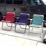 Russel Wright Folding Chairs