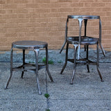 Brushed Steel Toledo stools