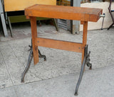 Vintage Carving Bench