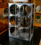 Chrome Wine Rack