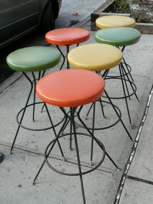 Colorful 50's Barstools