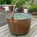 Large Copper Cauldron