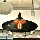 Gunmetal Cone Pendant Light