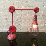Industrial Articulating Cage Lamp