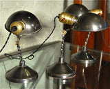 Industrial Articulating Twisted Stem Library Lamps