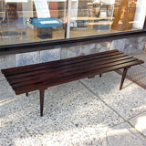 Long Slatted Coffee Table
