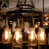 Oil Jar Chandelier