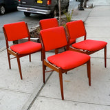 Arne Vodder Dining Chairs