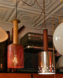 Industrial Spool Pendant Lights