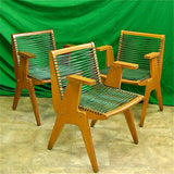 Rope Arm Chairs