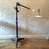 1920's Dentist Floor Lamp
