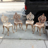 Wrought Iron Chair Set