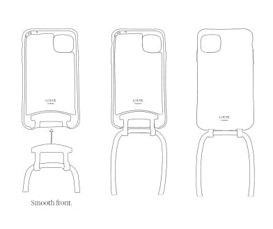 Corded phone case. customise your smartphone. Phone case with cord. phone lanyard