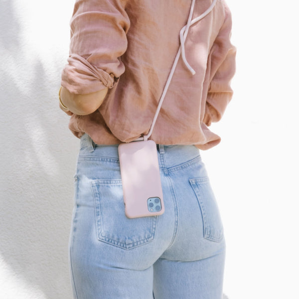 Coral Chic - Phone Case + Cord