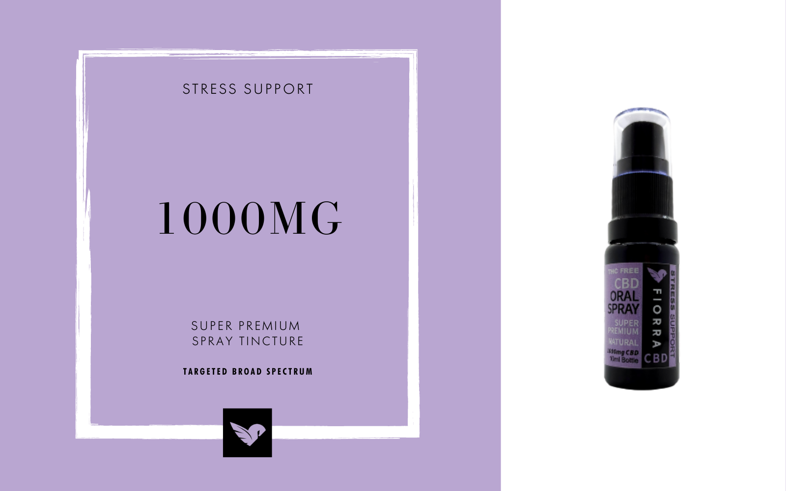 Super Premium CBD Oil for Stress and Sleep | Spray Tincture
