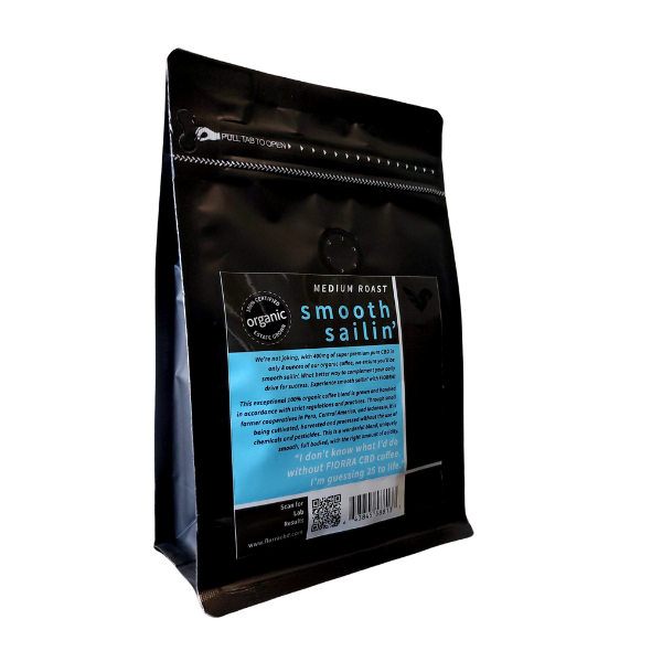 BEST CBD INFUSED COFFEE GROUND (400mg CBD)