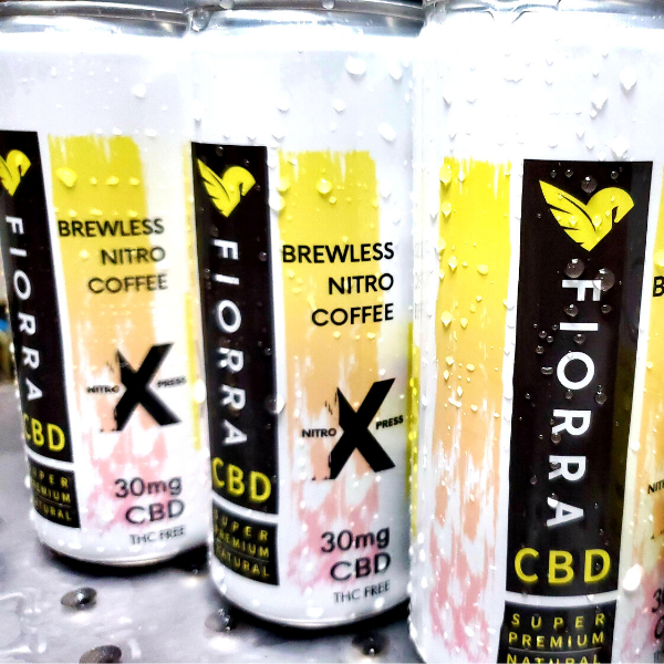 FIORRA CBD NITRO COLD BREW LESS COFFEE | CBD NITRO X PRESS