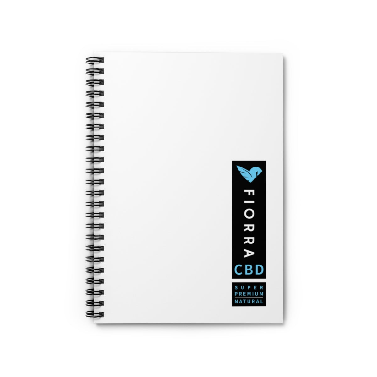 FIORRA CBD Spiral Notebook - Ruled Line