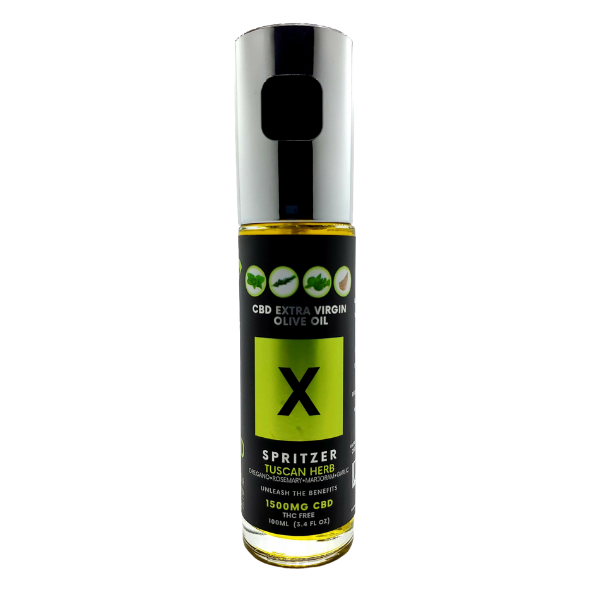 CBD Infused Tuscan Herb Extra Virgin Olive Oil X Spritzer