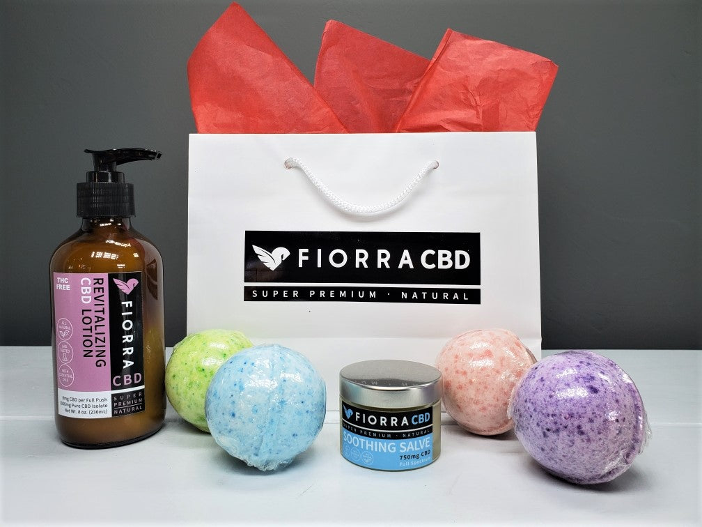 FIORRA CBD SPA CARE PACKAGE