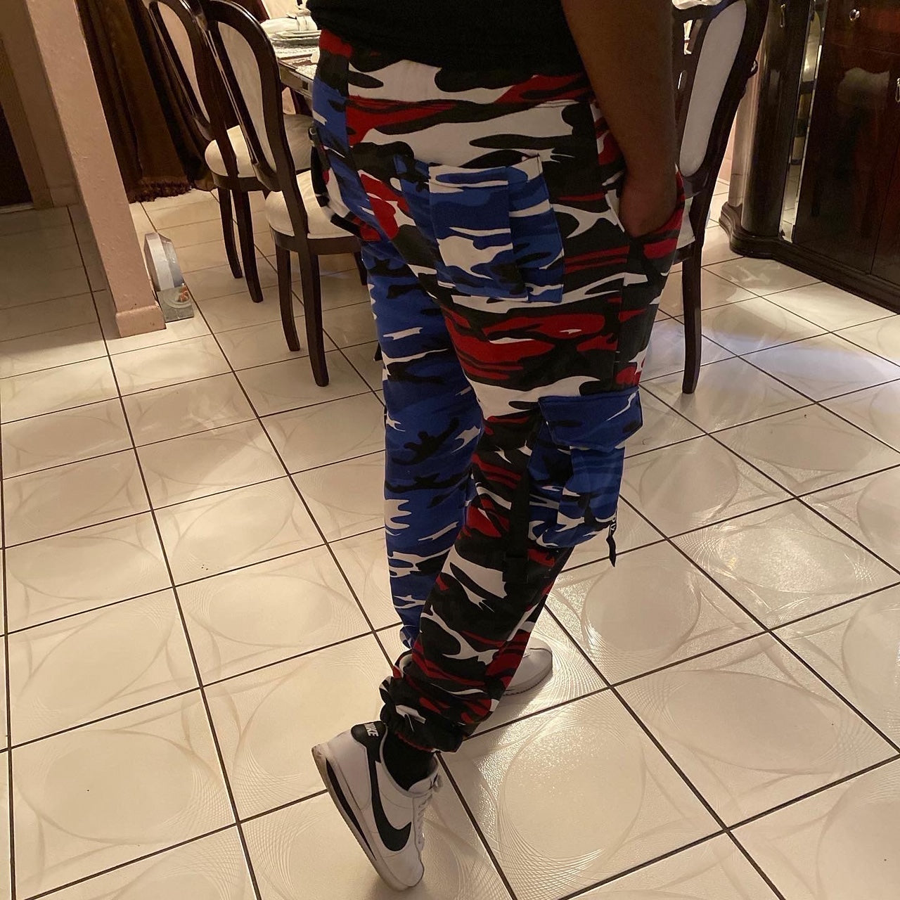 Duo-Camo Sweat Pants (Unisex)