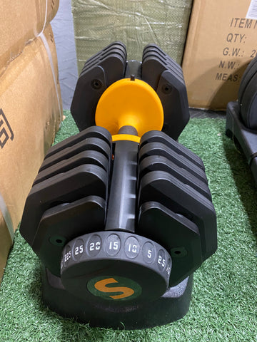 paire dumbell ajustable