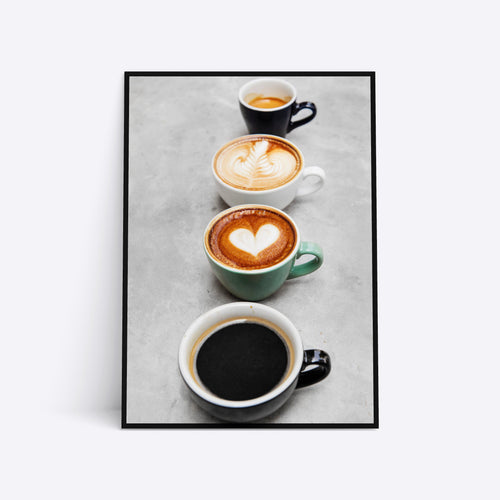 Coffee Love plakat i ramme
