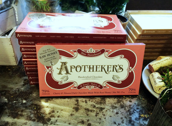 Apotheker's Honey-Sweetened Chocolate Bar