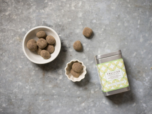 Fruition Chocolate Crystallized Ginger with Matcha