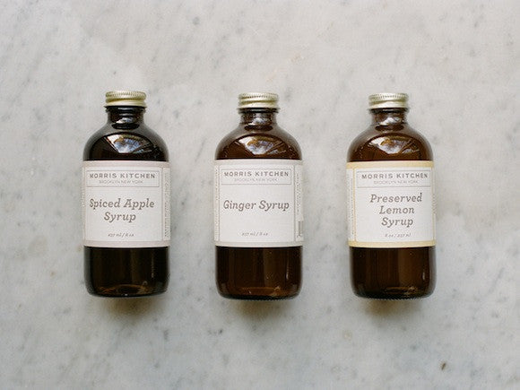 Morris Kitchen Syrups
