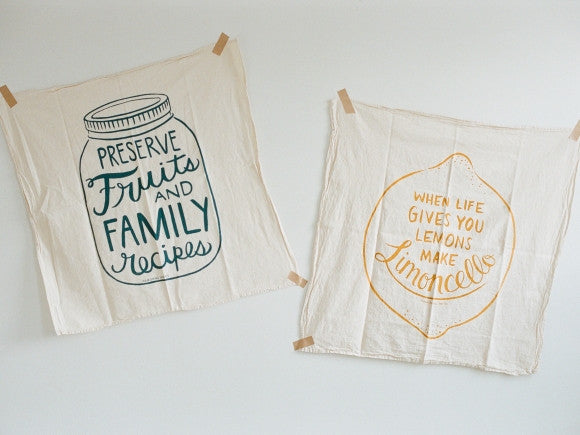 Nourishing Notes Food Philosophy Towels