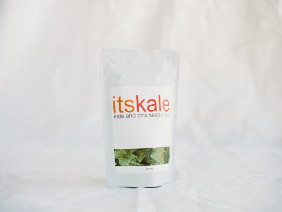 itskale Organic Kale and Chia Seed Chips (3 Bags)