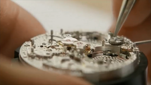Hand made mechanical watch
