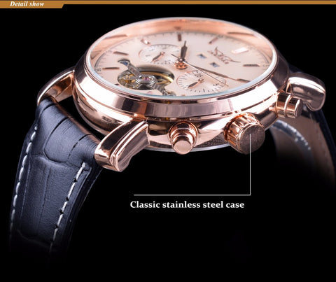 JG Rose Golden Tourbillion