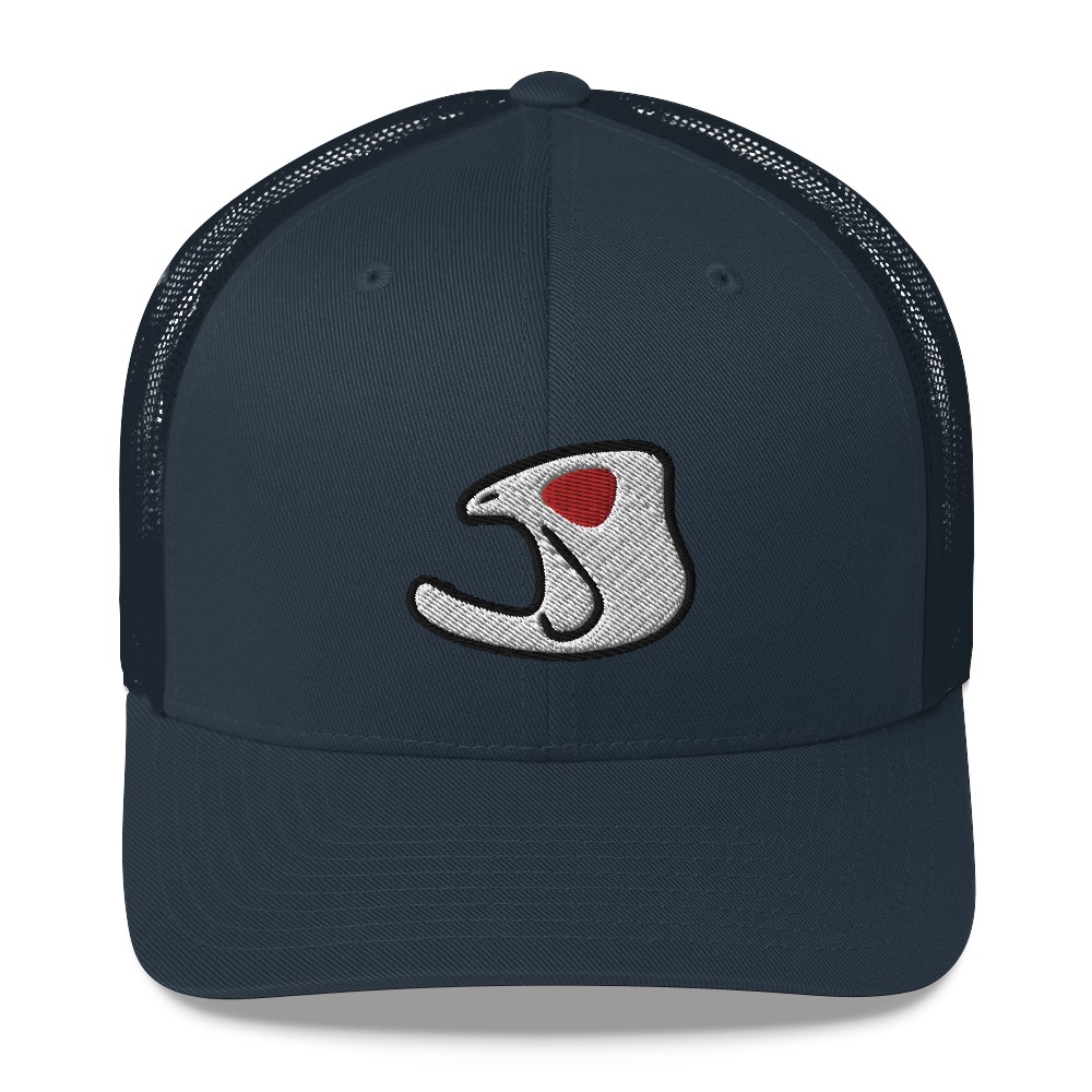 """Red Eye Willie Logo"" Bass Bones Mesh Style Hat"