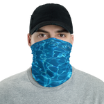 "Neck Gaiter Face Mask ""Aqua Water"""