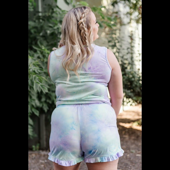 Pixie Dust Tie Dye Shorts
